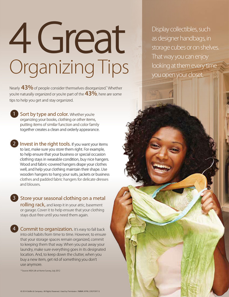 4 Great Organizing Tips