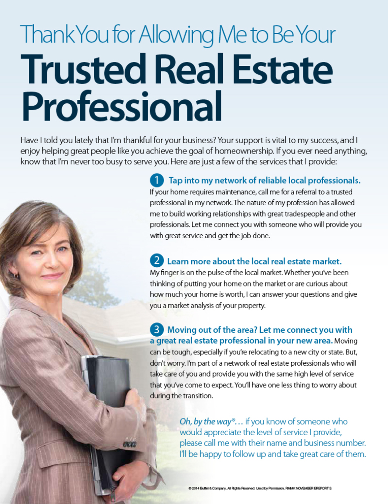 Trusted Real Estate Professional