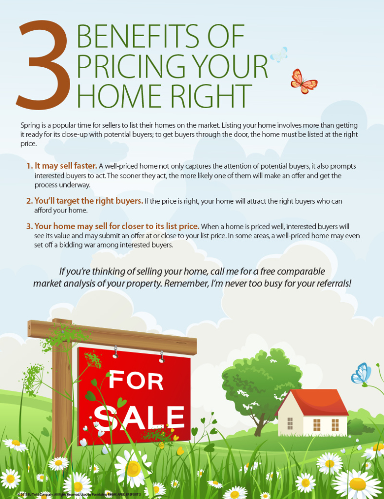 3 Benefits of Pricing Your Home Right