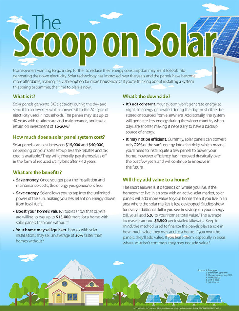 The Scoop on Solar